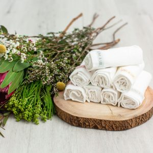 Chemical free bamboo washcloths