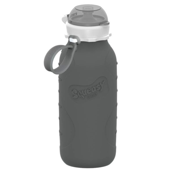 Toxin free grey squeasy snacker 470ml
