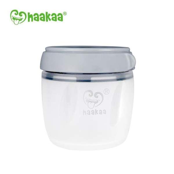Safe and toxin free Haakaa 160ml generation 3 silicone storage container