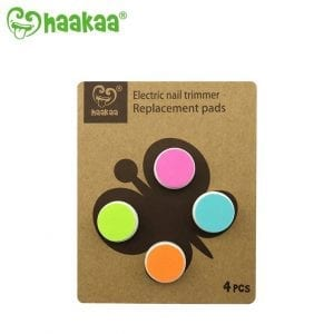 Safe to use Haakaa electric nail trimmer replacement pads