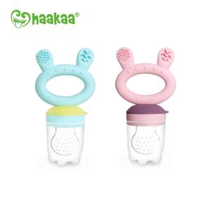 Chemical free Haakaa fresh food feeder and teether
