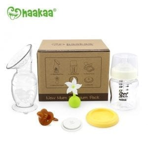 Eco-friendly Haakaa new mum premium pack
