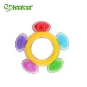 Chemical free Haakaa silicone ferris wheel teether