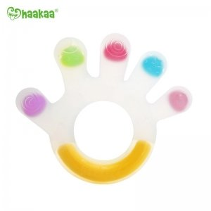 Chemical free Haakaa silicone palm teether