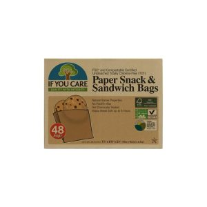 Chemical free greaseproof paper snack and sandwich bags