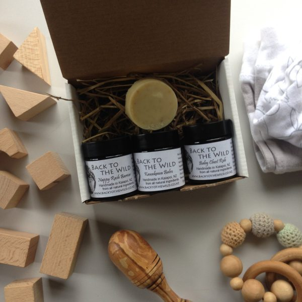 All products inside baby gift box are handmade, from 100% natural and mainly organic ingredients