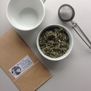 Safe and natural red raspberry leaf tea