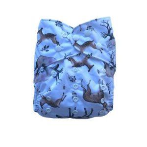 Yoho pocket cloth nappy Fawn