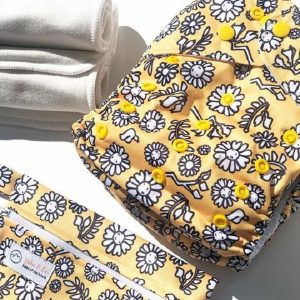 yoho pocket cloth nappy kowhai