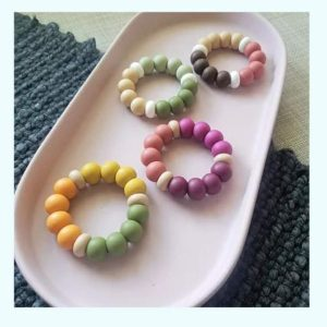 toxin free food grade silicone teether