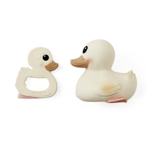 Hevea Kawan_rubberduck_teether_Giftset_Product_White