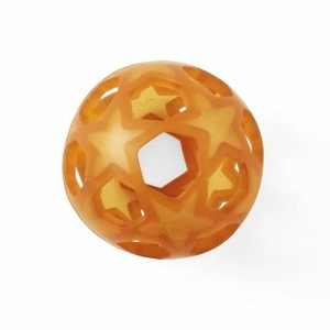 Hevea natural rubber star ball toy