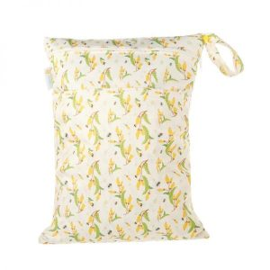 Chuckles kiwiana kowhai kiss yellow flower wet bag
