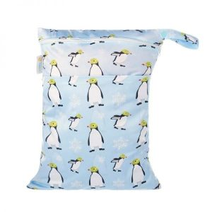 Chuckles ping wings penguin wet bag