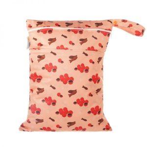Chuckles Kiwi Sweetie Kiwiana wet bag