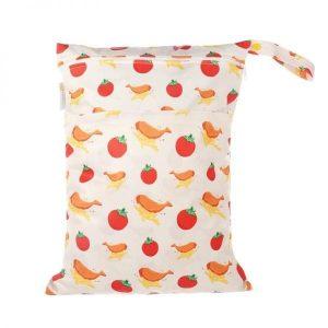 Chuckles fush n chips Kiwiana wet bag