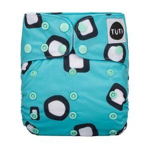 TUTI_Mintie cloth nappy nz