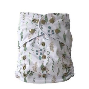 Yoho pocket cloth nappy plants breezy