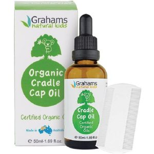grahams organic cradle cap oil