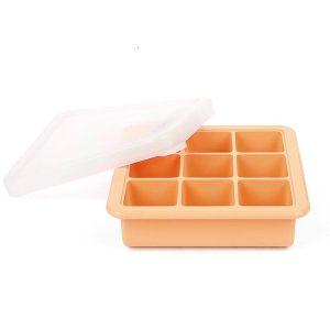 haakaa Baby Food and Breast Milk Freezer Tray orange apricot9