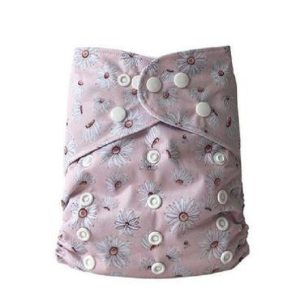 yoho pocket cloth nappy daisies
