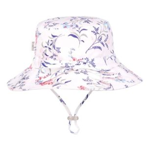 Toshi wide brimmed baby toddler sunhat botanical dawn