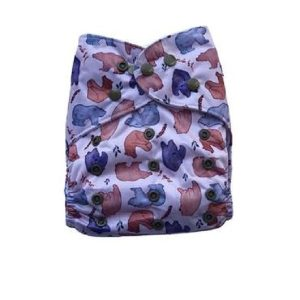yoho pocket cloth nappy bear bum